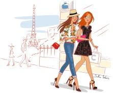 Paris-woman-lifestyle