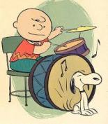 Drums Charlie Brown